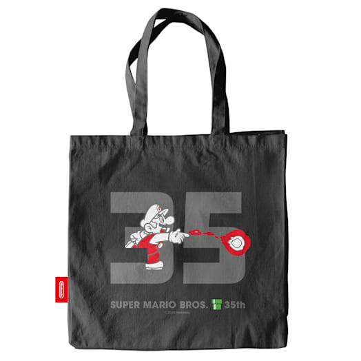 Fire Mario Tote Bag - Super Mario Bros. 35th Anniversary