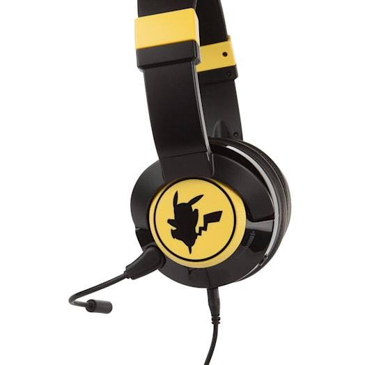 Nintendo Switch Gaming Headphones (Wired) - Pokémon Pikachu Silhouette image 3
