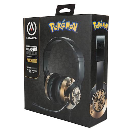 Nintendo Switch Gaming Headphones (Wired) - Pokémon Pikachu Gold