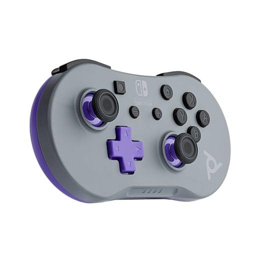 Nintendo Switch Mini Controller - Grey / Purple image 2
