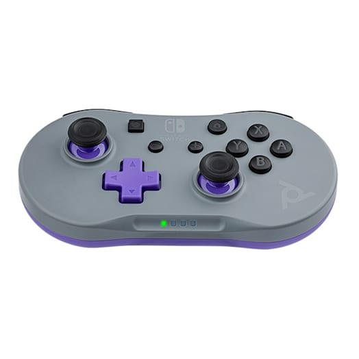 Nintendo Switch Mini Controller - Grey / Purple image 4