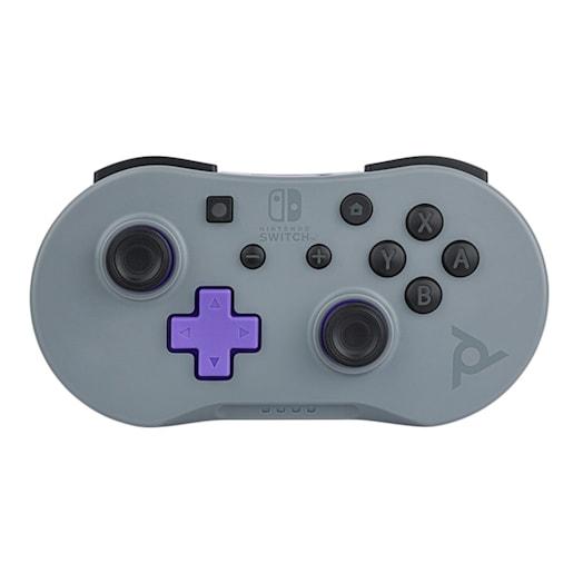 Nintendo Switch Mini Controller - Grey / Purple image 1