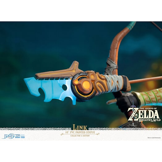 The Legend of Zelda: Breath of the Wild Link Figurine (Collector's Edition) image 9