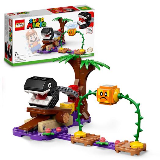 LEGO Super Mario Chain Chomp Jungle Encounter Expansion Set (71381)
