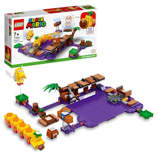 LEGO Super Mario Wiggler's Poison Swamp Expansion Set (71383)