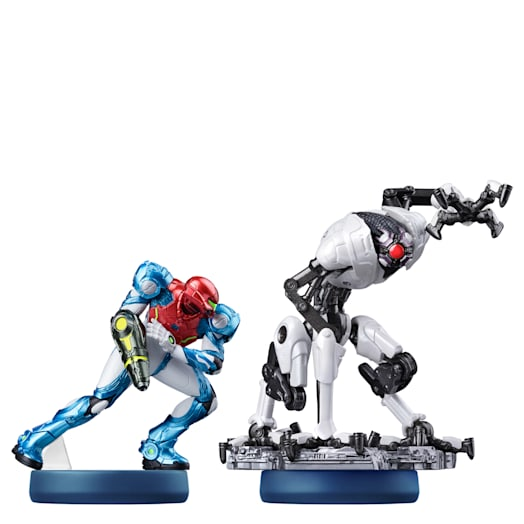 Samus and E.M.M.I. Double Pack amiibo (Metroid Dread Collection)
