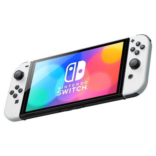Nintendo Switch – OLED Model (White) Metroid Dread Pack image 4