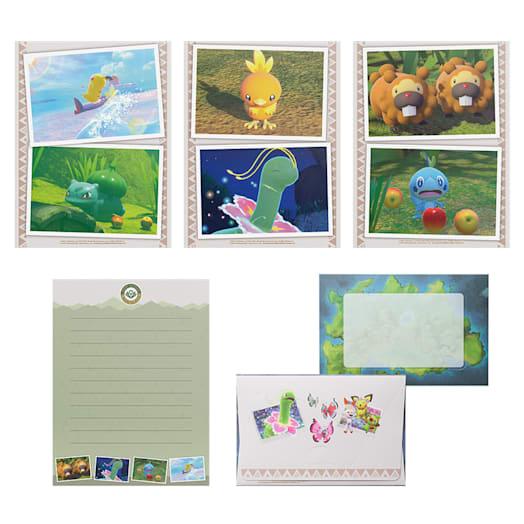 New Pokémon Snap Letter Set