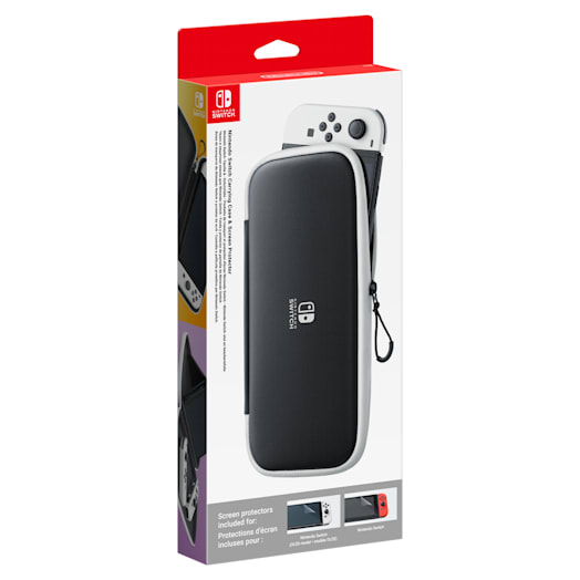Nintendo Switch – OLED Model Carrying Case & Screen Protector