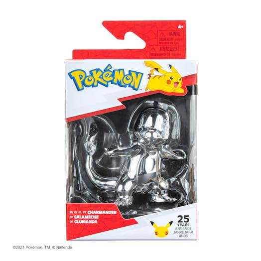 Pokémon 25th Celebration Charmander Silver Figure