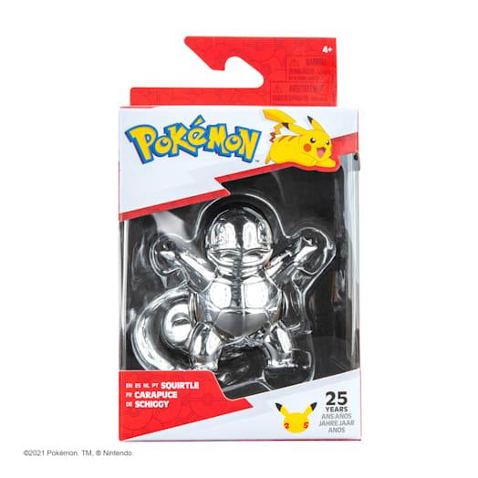 Pokémon 25th Celebration Squirtle Silver Figure