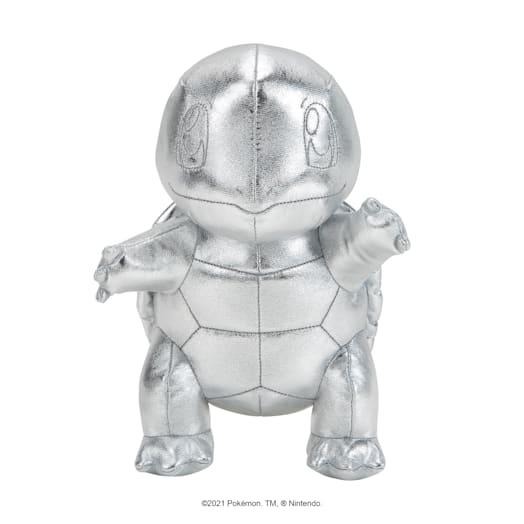Pokémon 25th Celebration Squirtle Silver Soft Toy