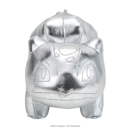 Pokémon 25th Celebration Bulbasaur Silver Soft Toy