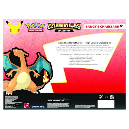 Pokémon TCG: Celebrations V Box - Lance's Charizard V & Dark Sylveon V (25th Anniversary) Assortment image 3