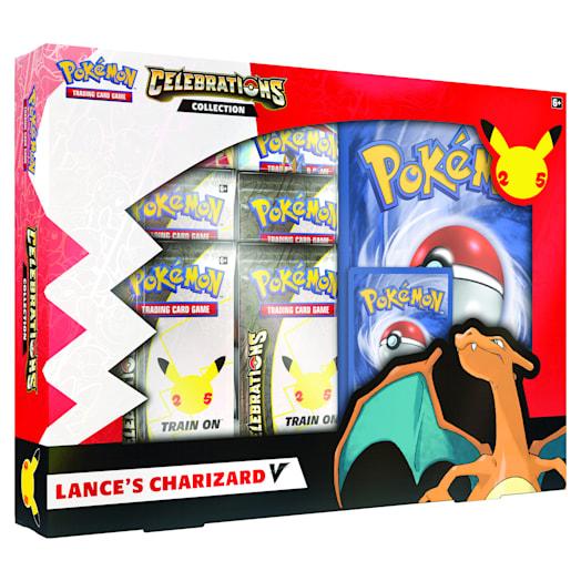 Pokémon TCG: Celebrations V Box - Lance's Charizard V & Dark Sylveon V (25th Anniversary) Assortment image 4