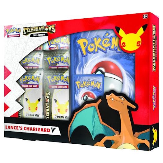 Pokémon TCG: Celebrations V Box - Lance's Charizard V & Dark Sylveon V (25th Anniversary) Assortment image 5