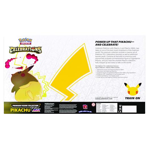 Pokémon TCG: Celebrations Premium Figure Collection - Pikachu VMAX (25th Anniversary) image 2