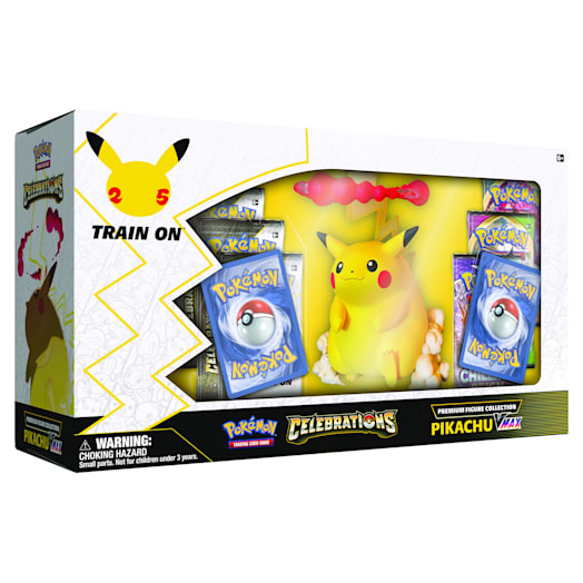 Pokémon TCG: Celebrations Premium Figure Collection - Pikachu VMAX (25th Anniversary) image 3