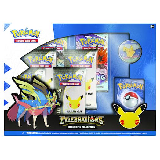 Pokémon TCG: Celebrations Deluxe Pin Box (25th Anniversary)