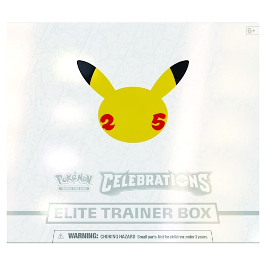 Pokémon TCG: Celebrations Elite Trainer Box (25th Anniversary)