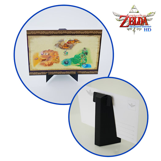 The Legend of Zelda: Skyward Sword HD XL Postcard Set + Art Stand image 2