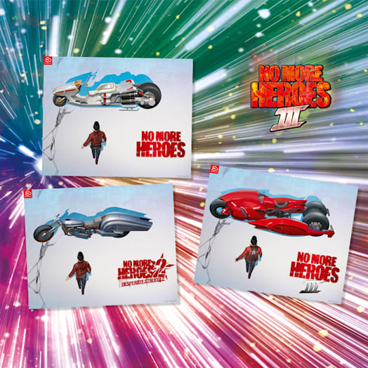 No More Heroes 3 Poster Set