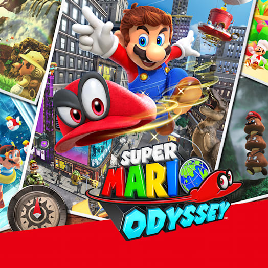 Nintendo Switch (Grey) Super Mario Odyssey Pack image 8
