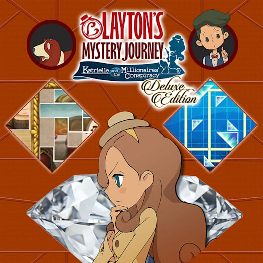 Layton's Mystery Journey™: Katrielle and the Millionaires' Conspiracy Deluxe Edition