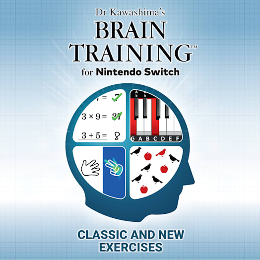 Dr Kawashima's Brain Training for Nintendo Switch image 1