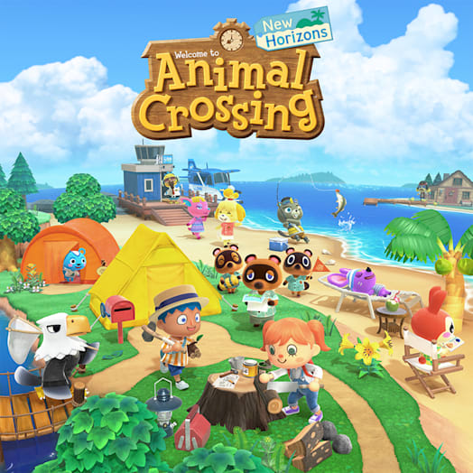 Nintendo Switch (Neon Blue/Neon Red) Animal Crossing: New Horizons Pack image 14