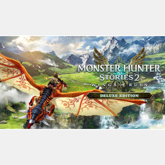 Monster Hunter Stories 2: Wings of Ruin Deluxe Edition image 1