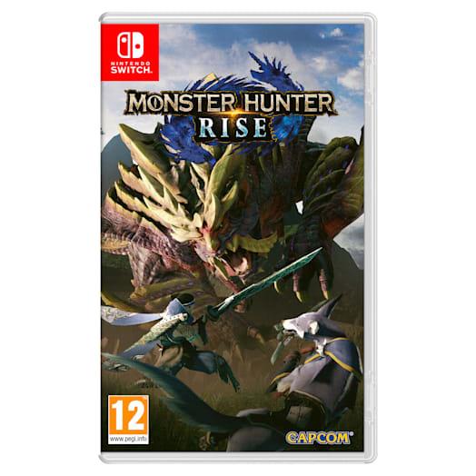 MONSTER HUNTER RISE +  Nintendo Switch Pro Controller Pack