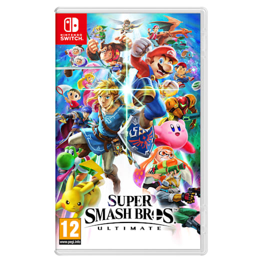 Nintendo Switch (Grey) Super Smash Bros. Ultimate Pack image 11