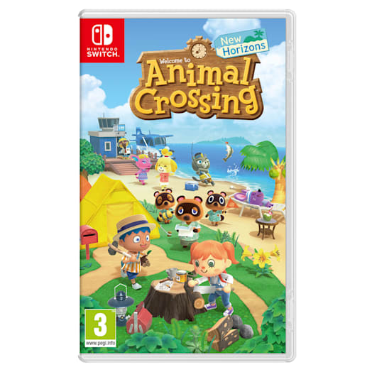 Nintendo Switch (Neon Blue/Neon Red) Animal Crossing: New Horizons Pack image 11