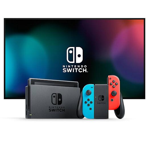Nintendo Switch (Neon Blue/Neon Red) Minecraft Pack image 2