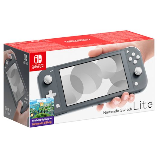 Nintendo Switch Lite (Grey) Minecraft Pack