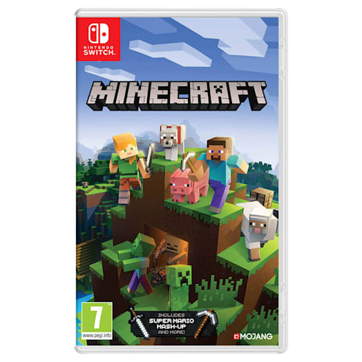 Nintendo Switch Lite (Grey) Minecraft Pack image 10