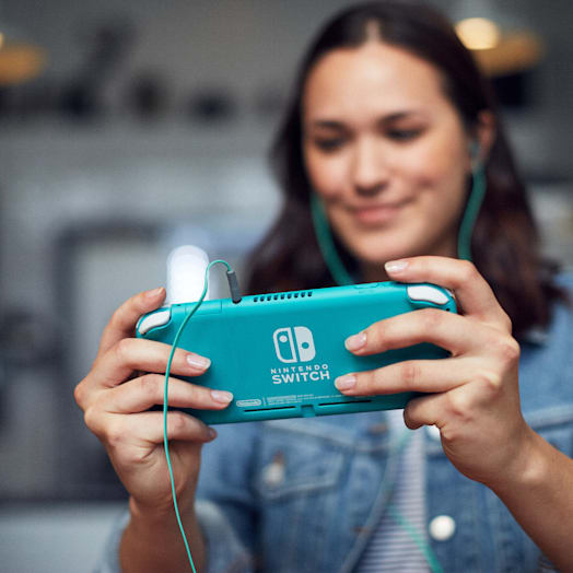 Nintendo Switch Lite (Turquoise) Minecraft Pack image 16
