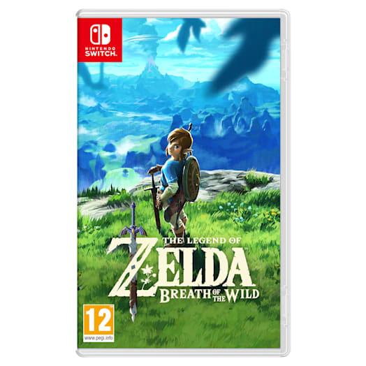 Nintendo Switch (Grey) The Legend of Zelda: Breath of the Wild Pack image 11