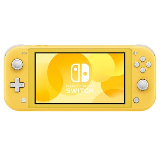 Nintendo Switch Lite (Yellow) Minecraft Pack image 4