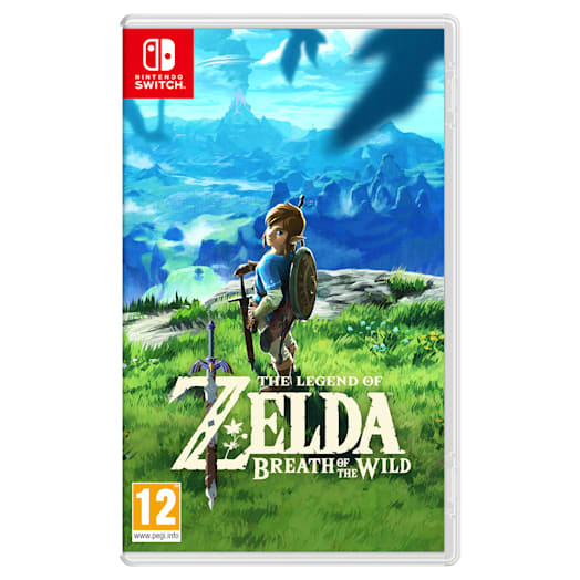 Nintendo Switch (Neon Blue/Neon Red) The Legend of Zelda: Breath of the Wild Pack image 11