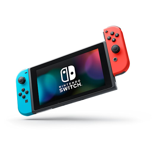 Nintendo Switch (Neon Blue/Neon Red) Super Mario Odyssey Pack image 9