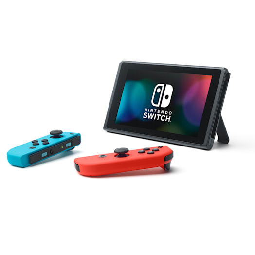 Nintendo Switch (Neon Blue/Neon Red) Super Mario Odyssey Pack image 10