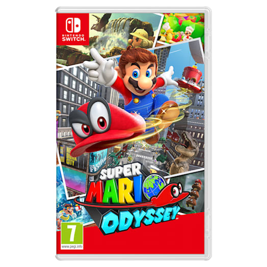 Nintendo Switch (Neon Blue/Neon Red) Super Mario Odyssey Pack image 11