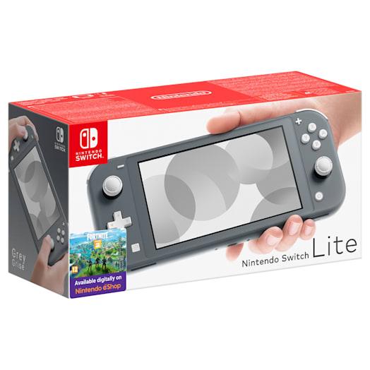 Nintendo Switch Lite (Grey) Mario Kart 8 Deluxe Pack