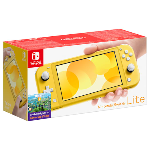 Nintendo Switch Lite (Yellow) Mario Kart 8 Deluxe Pack