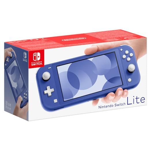 Nintendo Switch Lite (Blue) MONSTER HUNTER RISE Pack