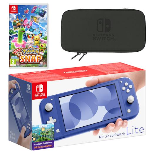 Nintendo Switch Lite (Blue) New Pokémon Snap Pack