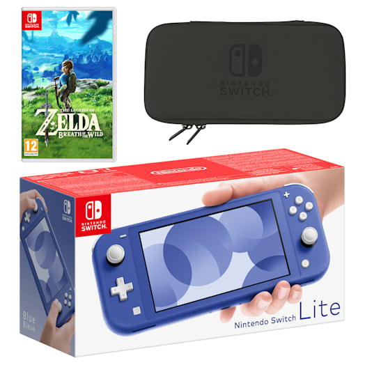 Nintendo Switch Lite (Blue) The Legend of Zelda: Breath of the Wild Pack