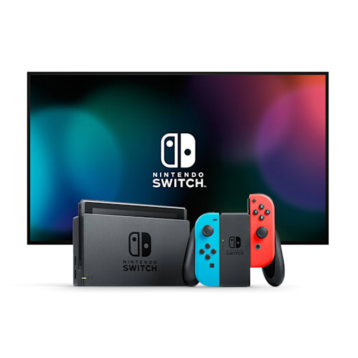 Nintendo Switch (Neon Blue/Neon Red) MONSTER HUNTER RISE Pack
